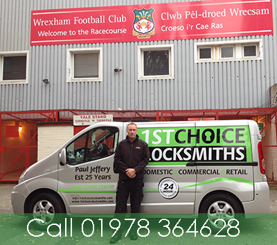 Locksmith in Wrexham